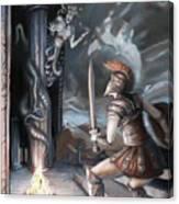 Slay The Gorgon Canvas Print