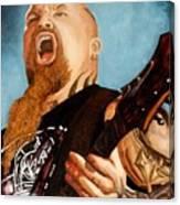 Slayer King Canvas Print