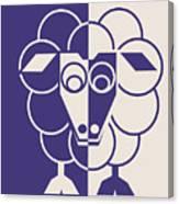 Sleep-sheep - Lonvig By Minymo Canvas Print
