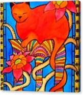 Sleeping Beauty By Dora Hathazi Mendes Canvas Print