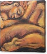 Sleeping Nymph3 Canvas Print