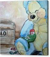 Sleepy Gnome Canvas Print