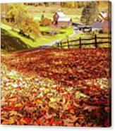Sleepy Hollow - Pomfret Vermont-1 Canvas Print