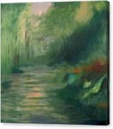 Sleepy River Canvas Print