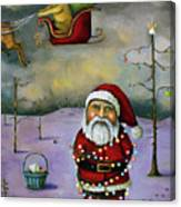Sleigh Jacker Canvas Print