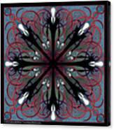 Slendermandala 2 Canvas Print