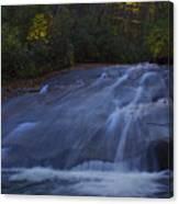 Sliding Rock Falls Canvas Print