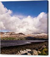 Slieve Mish Mountain In Snow Canvas Print