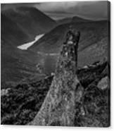 Slievenaglogh To Ben Crom. Canvas Print
