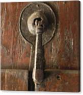 Slim Door Knocker Canvas Print