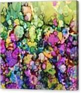 Slippery Light Canvas Print