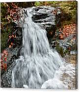 Slippery Rock Falls Fdr State Park Ga Canvas Print
