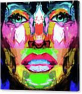 Split Personality By Nixo Canvas Print