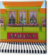 Sloans Canvas Print
