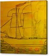Sloop Jon B Canvas Print