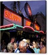 Sloppy Joes Bar Canvas Print