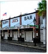 Sloppy Joe's Bar Key West Canvas Print