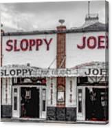 Sloppy Joe's Saloon- Key West Canvas Print