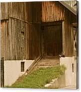 Slovenian Barn Canvas Print