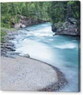 Slow Down On Mcdonald Creek Canvas Print