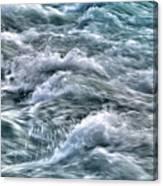 Slow Motion Rapids Canvas Print