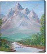 Slumber Mountain Canvas Print