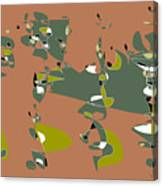 Slumber Party 2 Canvas Print