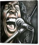Sly Stone Canvas Print