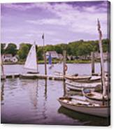 Small Boat Day Canvas Print