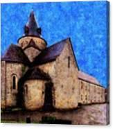 Small Church 1 Canvas Print