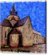 Small Church 2 Canvas Print
