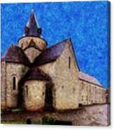 Small Church 3 Canvas Print
