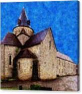 Small Church 4 Canvas Print