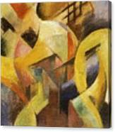 Small Composition I 1913 Canvas Print