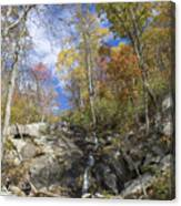 Small Fall Waterfall Canvas Print