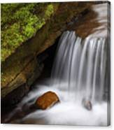 Small Falls At Governor Dodge State Park Canvas Print