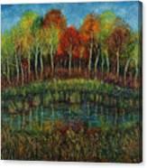 Small Lake. Canvas Print