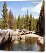 Small Lake Sierra Nevada Canvas Print