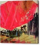 Small Pike Umbrella Canvas Print