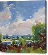 Small Riverside Canvas Print
