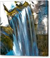 Small Stop Motion Waterfall Canvas Print