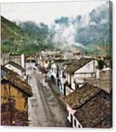 Small Town Ecuador Canvas Print