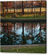 Small Urban Park Canvas Print