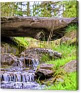 Small Waterfall 1 Canvas Print