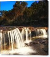 Small Waterfall In Australian Landscape  Canvas Print