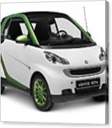 Smart Fortwo Electric Drive Canvas Print