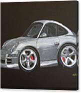 Smart Porsche Canvas Print
