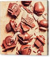 Smashing Chocolate Fondue Party Canvas Print
