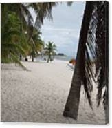 Smathers Beach - Key West Canvas Print