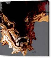 Smaug The Terrible Canvas Print